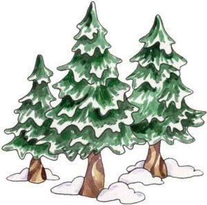 A három fenyőfa