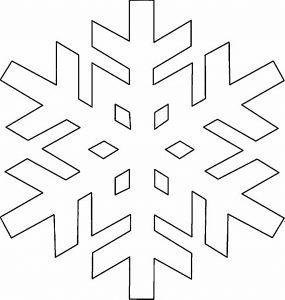 Hópehely papírból 10