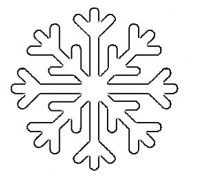 Hópehely papírból 9