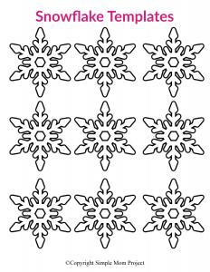 Hópehely papírból 9_1