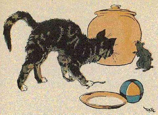 A macska meg az egér barátsága