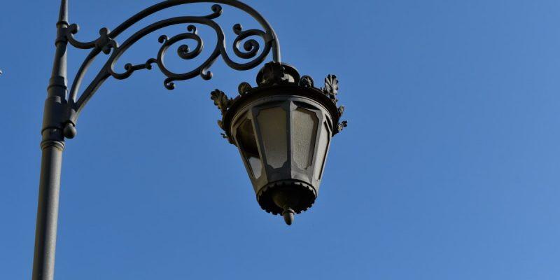 Az öreg utcai lámpás