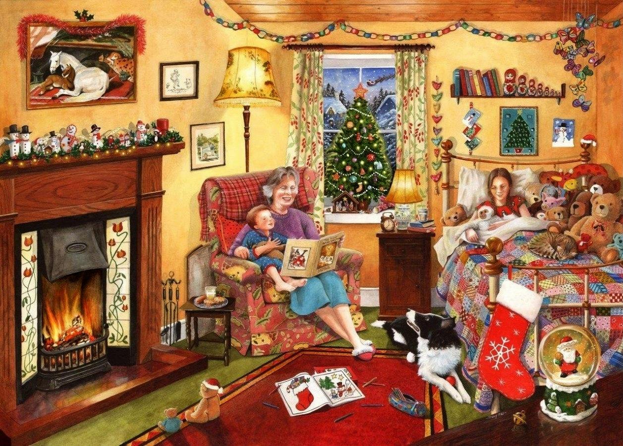 Karácsonyi mesélés