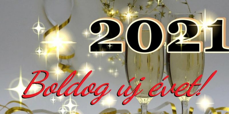 Boldog új évet 2021-ben!
