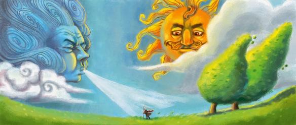 A szél és a nap