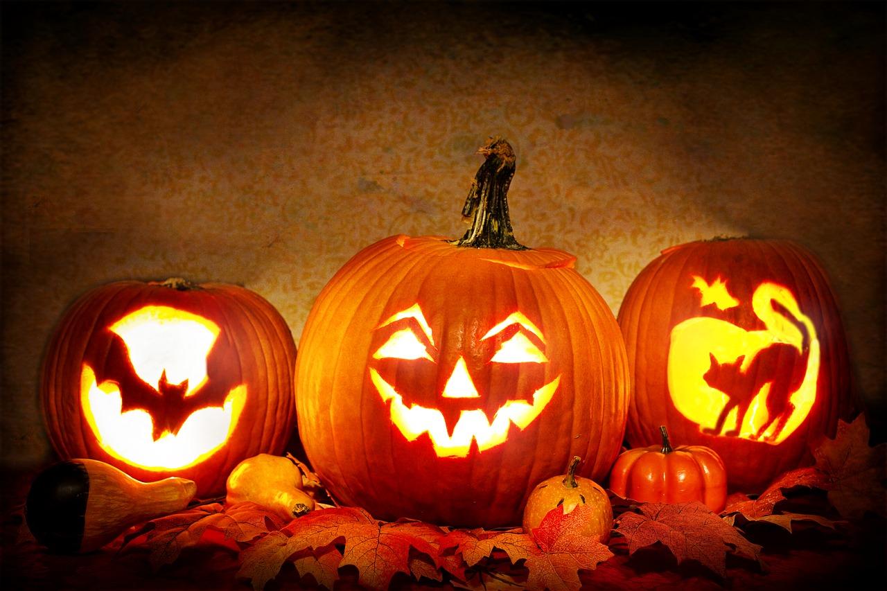Halloween szimbóluma a töklámpás